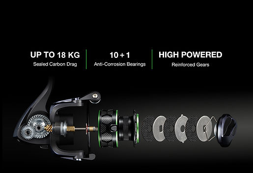 Brutalde, Brutalade Fishing Reels, Best Value Spin Reel Great Quality Spinnig Salt Water Spin. Shimano, Daiwa, Penn, Big Brand Performance, Tournament Drag System, Technology New Buy Brutalade Fish AusFishWarehouse