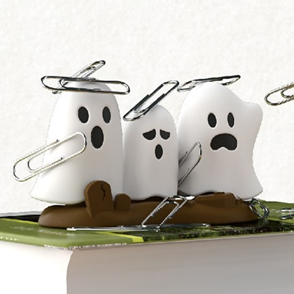 Ghostbusters paperclip holder