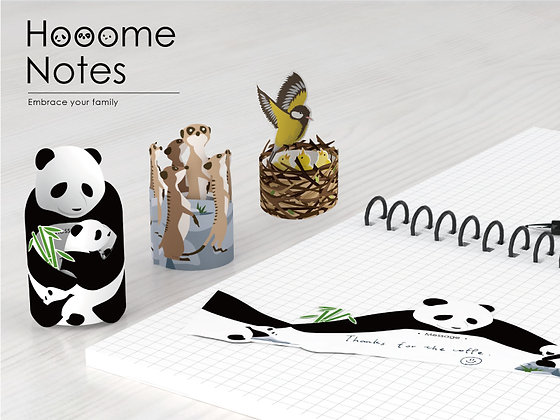 Hooome Note Paper Set