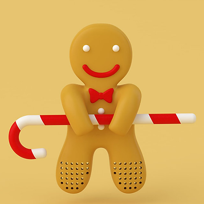 Gingerbread man Tea Infuser