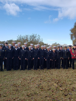 SAC DIV / TSCAL at the Gold Country Pearl Harbor Remembrance Day