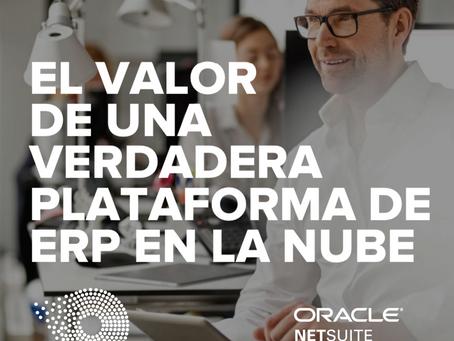 El valor de una verdadera plataforma ERP en la nube