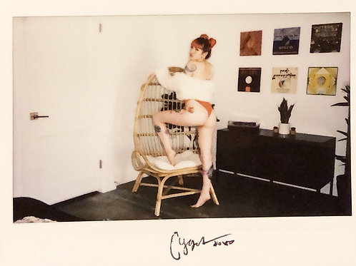 Cygnet Suicide Signed Instax 1