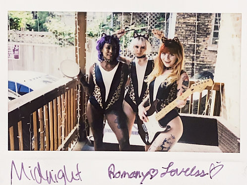 Midnight, Romany & Loveless Suicide Signed Instax 1