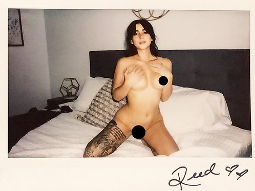 Reed Suicide Signed Instax 2