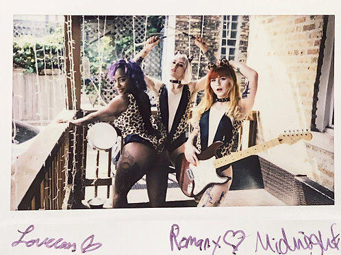 Midnight, Romany & Loveless Suicide Signed Instax 2