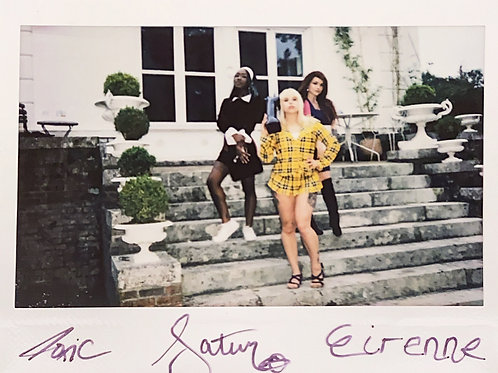 Eirenne, Toxic & Saturn Suicide Signed Instax 1