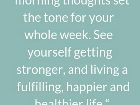 Mondays Quote for the week!