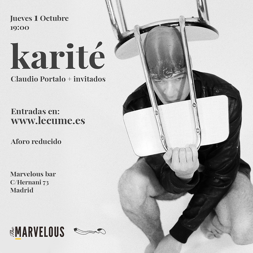 KARITÉ · Claudio Portalo + invitados en MADRID