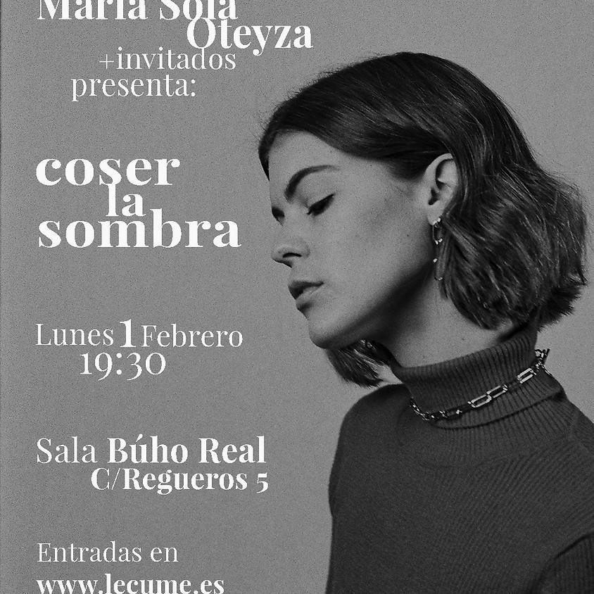 María Solá Oteyza presenta COSER LA SOMBRA