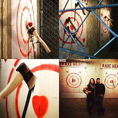 Date Night Axe throwing in Cornwall, United Kingdom