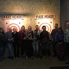 Team Building Event at Axe Heads Cornwall,UK