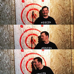 Urban Axe Throwing, Happy axe thrower