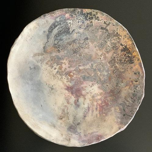 Moon Range, Large plate
