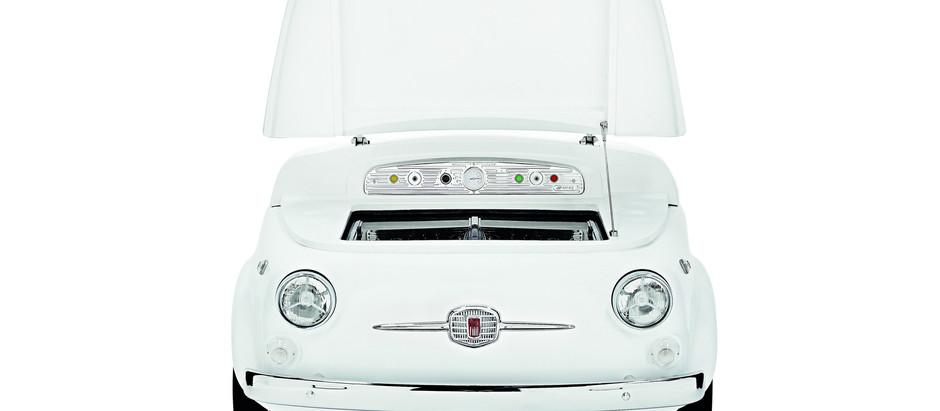 PAS D'IDÉE CADEAU POUR NOËL? OFFREZ VOUS UN FRIGIDAIRE FIAT 500!