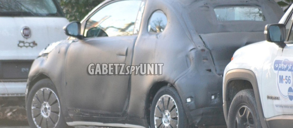 FIAT 500 E: PREMIERS CLICHES DU PROTOTYPE!