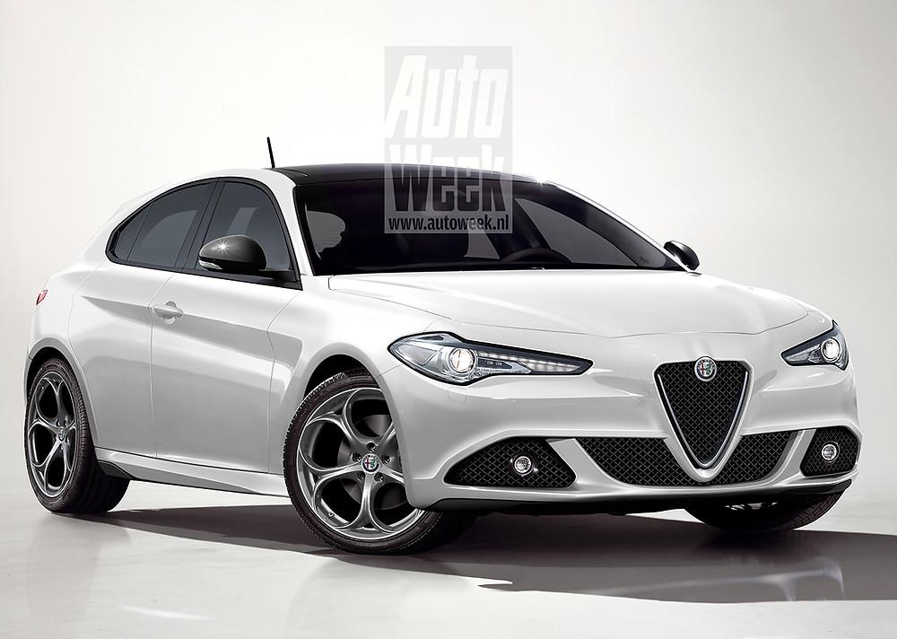 Future Alfa Romeo Giulietta