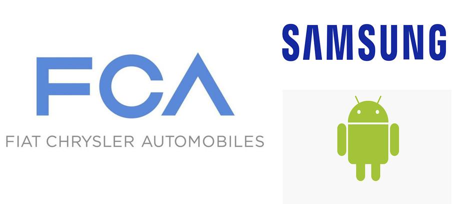 FCA CHOISIT SAMSUNG ET GOOGLE POUR LA CONNEXION DE SES FUTURS VÉHICULES!