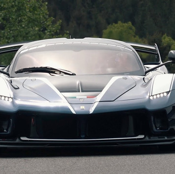 La Ferrari FXX K Evo rugit à Spa-Francorchamps !
