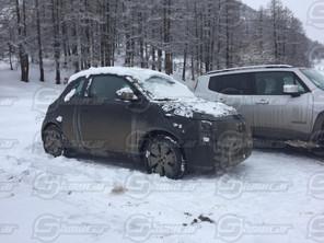 FUTURE FIAT 500 E: NOUVEAUX CLICHES DU PROTOTYPE !