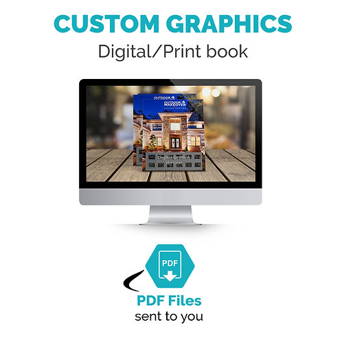 Custom Graphic Design - ebook/ printed book