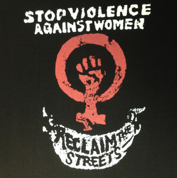"""""""RECLAIM THE STREETS"""" 2 COLOUR MARCH TEE"""