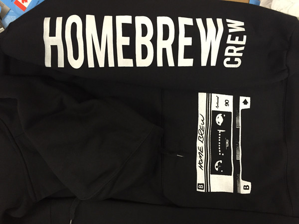 """SLEEVE AND POUCH PRINT FOR """"HOMEBREW"""""""