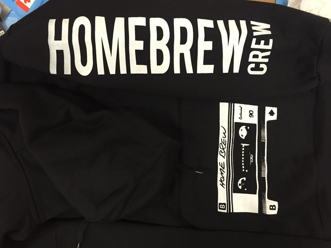 "SLEEVE AND POUCH PRINT FOR ""HOMEBREW"""