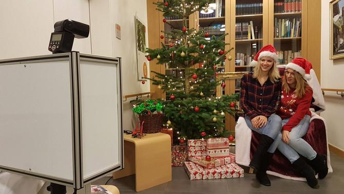 Fotobox für Weihnachtsfeier