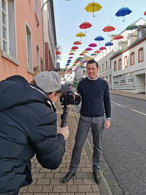 Video-Dreh App Prüm - Bürgermeister