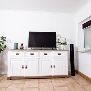 Wohnzimmer Ferienwohnung Eifel DreiländerHeck