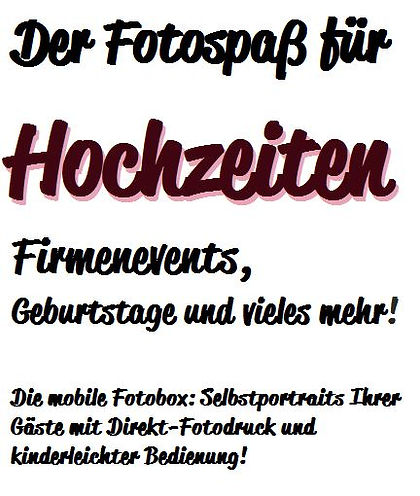 Knipskiste Eifel Fotobox mieten Luxemburg Bitburg Prüm Trier Spiele Hochzeit Fotograf