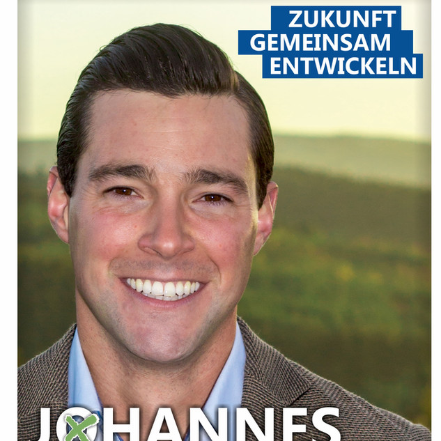 Johannes Reuschen Wahlplakat
