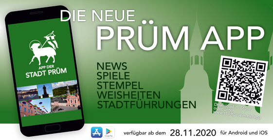 Advertising banner City of Prüm App