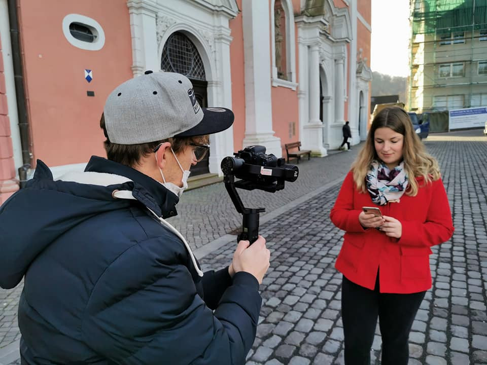 Video shooting - App Prüm - Hahnplatz Basilica