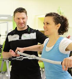 Fitnessstudio Niederprüm fitZone Personaltraining Personaltrainer Training