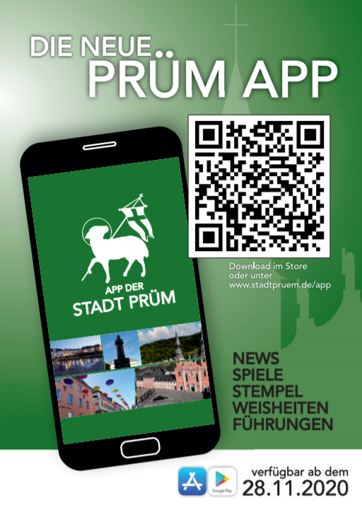 Flyer City of Prüm App