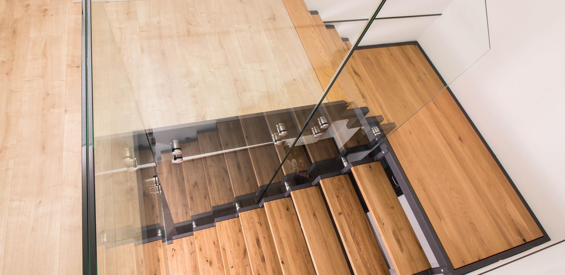 Fuchs Glashandel Lambertsberg Eifel Prüm Luxemburg Glas Geländer