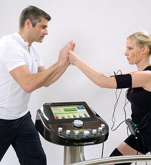 Fitnessstudio Niederprüm fitZone EMS elektrische Muskelstimulation Workout Training