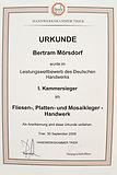 Leistungswettbewerb Bertram Mörsdorf