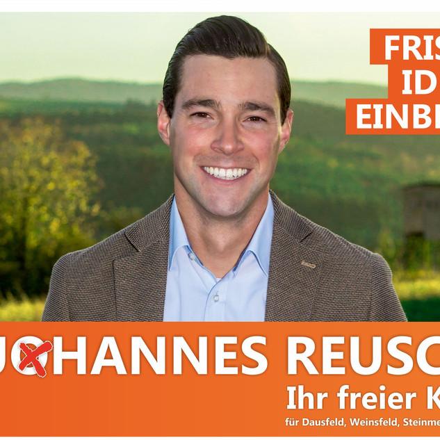 Johannes Reuschen Banner