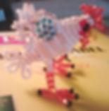 Игрушка из бисера Петушок Фото