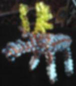 Игрушка из бисера Лось, Олень Фото