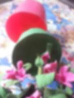 Цветы из плимерной глины