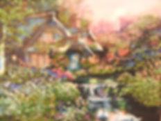 Картина Цветущая гармония  Вышивка биссером Фото