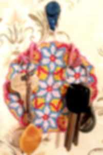 Мандала мозаика из бисера крючки вешалка для ключей