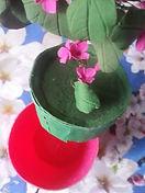 Сувенир тайник Цветы из плимерной глины