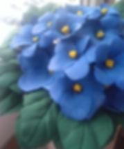Тайники в горшочке с цветами из полимерной глины купить в СПб
