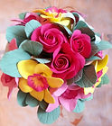 Букет цветов из полимерной глины Символ изобилия купить в СПб