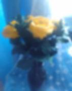 Букет жёлтых роз из плимерной глины в СПб